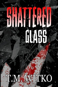 Shattered Or Smashed Glass Sharp Pieces